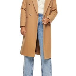 Brooke Double Breasted Long Coat   Nordstrom
