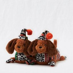 Aerie Fuzzy Animal Slippers | American Eagle Outfitters (US & CA)
