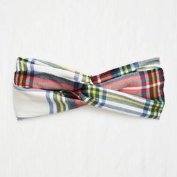 Aerie Flannel Twist Headband | American Eagle Outfitters (US & CA)