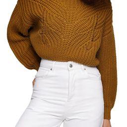 Butterfly Super Crop Sweater   Nordstrom