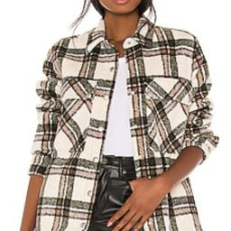 BLANKNYC Flannel Shacket in Outsider from Revolve.com   Revolve Clothing (Global)