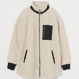 Faux Shearling Jacket   H&M (US)
