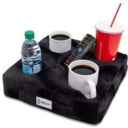Cup Cozy Deluxe Pillow (Black)- As Seen on TV-The world's BEST cup holder! Keep your drinks close... | Amazon (US)