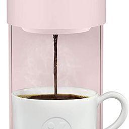 Keurig K-Mini Coffee Maker, Single Serve K-Cup Pod Coffee Brewer, 6 to 12 Oz. Brew Sizes, Dusty R... | Amazon (US)