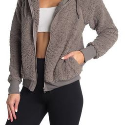 Up & Over Faux Shearling Bomber   Nordstrom Rack