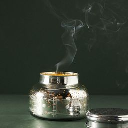 Capri Blue Volcano Iridescent Jar Candle   Anthropologie (US)