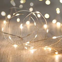 Sanniu Led String Lights, Mini Battery Powered Copper Wire Starry Fairy Lights, Battery Operated ...   Amazon (US)