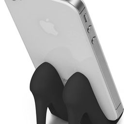 Fred PUMPED UP High Heel Phone Stand, Black | Amazon (US)