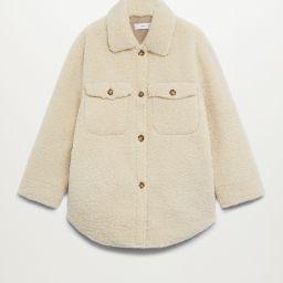 Faux shearling jacket   MANGO (US)