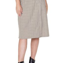Plaid Wrap Midi Skirt | Nordstrom Rack