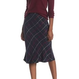 Plaid Bias Midi Skirt | Nordstrom Rack