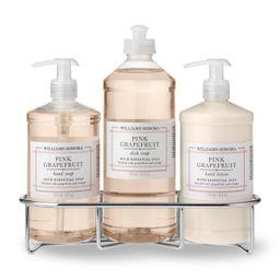 Williams Sonoma Pink Grapefruit Hand Soap & Lotion, Classic 4-Piece Set | Williams-Sonoma