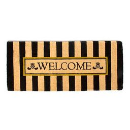 Awning Stripe Double Door Welcome Mat | MacKenzie-Childs