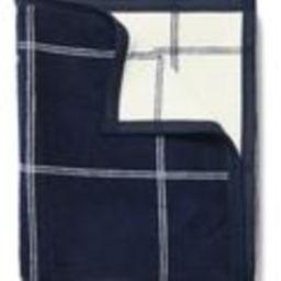 Classic Plaid Navy Blanket | ChappyWrap