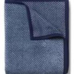 Harborview Herringbone Navy Blanket | ChappyWrap