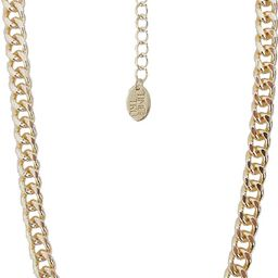 """Time and Tru - Time And Tru Gl Curb Link Chain 17"""" Necklace - Walmart.com 