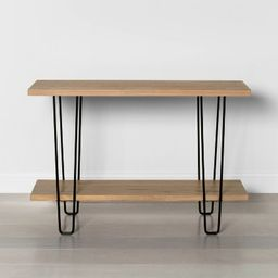 Wood & Wire Console Table - Hearth & Hand™ with Magnolia | Target