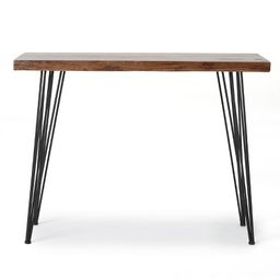Remington Live Edge Console Table Natural Finish - Christopher Knight Home | Target