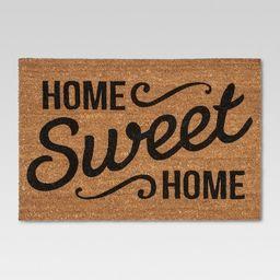 "Doormat Home Sweet Home Estate 23""x35"" - Threshold™ | Target"