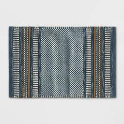 2'X3' Stripe Scatter Rug Blue - Threshold™ | Target