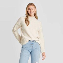 Women's Mock Turtleneck Pullover Sweater - Universal Thread™ | Target