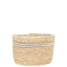 Striped Beaded Woven Basket | Fair Trade | The Little Market | The Little Market