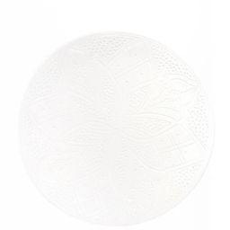 Ceramic Dinner Plate - White | The Little Market