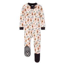 Burt's Bees Baby® Reindeer Organic Cotton Sleeper in Ivory | buybuy BABY