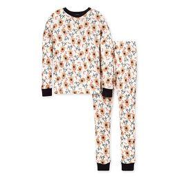 Burt's Bees Baby® Men's 2-Piece Reindeer Organic Cotton Pajama Set | buybuy BABY