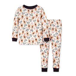 Burt's Bees Baby® 2-Piece Reindeer Organic Cotton Pajama Set | buybuy BABY