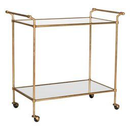 Safavieh Felicity Bar Cart, Gold/Mirror Top   Walmart (US)