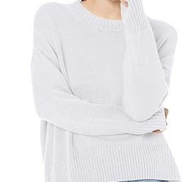 Amazon Brand - Daily Ritual Women's 100% Cotton Boxy Crewneck Pullover Sweater | Amazon (US)