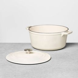 Enameled Cast Iron Dutch Oven - Hearth & Hand™ with Magnolia | Target