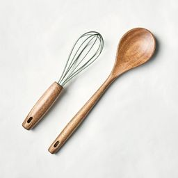 Whisk & Spoon Set Green - Hearth & Hand™ with Magnolia | Target