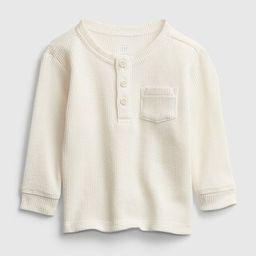 Baby Organic Thermal Shirt   Gap (US)