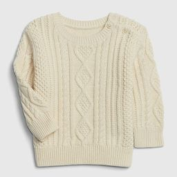 Baby Cable Knit Sweater | Gap (US)