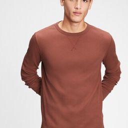 Waffle-Knit T-Shirt   Gap (US)