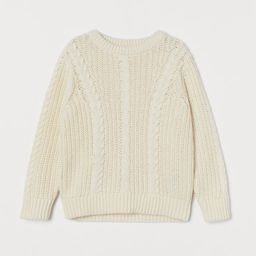 Cable-knit Sweater | H&M (US)