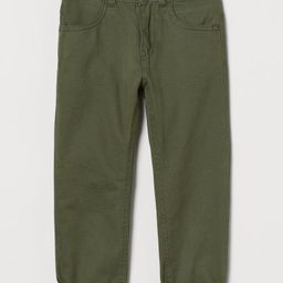 Lined Twill Pants   H&M (US)