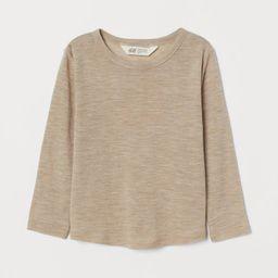 Merino Wool Jersey Shirt | H&M (US)