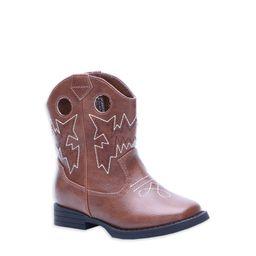 Wonder Nation Boys Western Cowboy Boot (Toddler Boys)   Walmart (US)