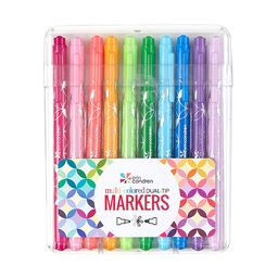 Colorful Dual-Tip Markers 10-Pack   Erin Condren