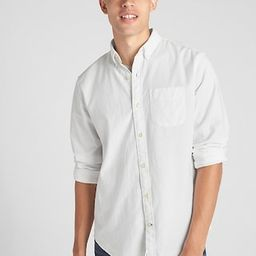 Lived-In Stretch Oxford Shirt | Gap (US)
