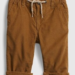 Baby Cord Lined Pull-On Pants | Gap (US)