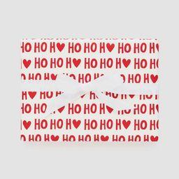 Ho Ho Heart Gift Wrap Red & White - Sugar Paper™ | Target