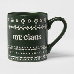 16oz Stoneware Mr. Claus Mug - Threshold™ | Target