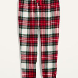 Patterned Flannel Jogger Pajama Pants for Women | Old Navy (US)