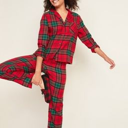 Patterned Flannel Pajama Set for Women | Old Navy (US)