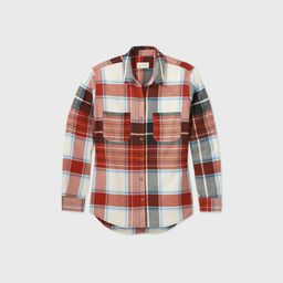 Women's Plaid Long Sleeve Button-Down Flannel Shirt - Universal Thread XS, MultiColored   Target