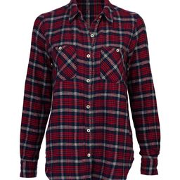 Forever 21 Women's Button Down Shirts Red - Burgundy Plaid Button-Up - Women   Zulily